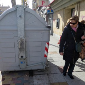 Ciudadanos Salamanca pondrá a disposición de los salmantinos un mail y un teléfono de contacto para recibir denuncias sobre mobiliario urbano mal ubicado