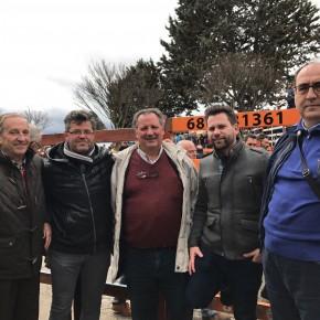 Manuel Hernández y Alejandro González visitan el Carnaval de Toro con los Concejales de Ciudadanos en Ciudad Rodrigo