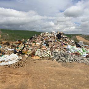 Ciudadanos se interesa por el estado del convenio para la limpieza de la vía pecuaria Cordel de Medina
