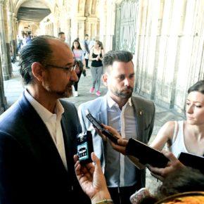 """Alejandro González """"le pedimos a Mañueco un pleno extraordinario para que explique su posible vinculación con la operación Lezo"""""""