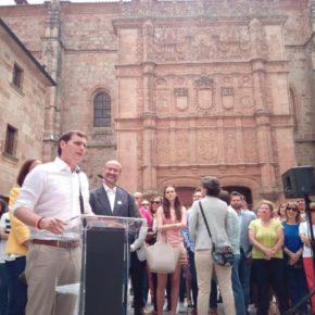 Salamanca acoge el Campus Joven de Invierno de Ciudadanos con la asistencia de Albert Rivera