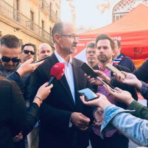 """Fuentes (Cs) defiende una España de """"libres e iguales"""" que """"mire al futuro con optimismo"""""""