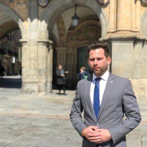 Cs solicitará al Ministerio del Interior que la Policía Local de Salamanca pueda integrarse en el sistema nacional 'AlertCops'