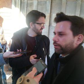 """Alejandro González: """"Con su huida, Mañueco ha incumplido su palabra con todos los salmantinos"""""""
