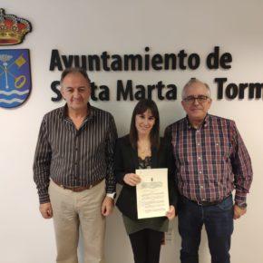 Cs Santa Marta celebra que por fin se haya materializado el convenio de colaboración con la Asociación de Celíacos