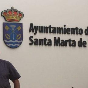 Pedro González encabeza la candidatura de Ciudadanos a la alcaldía de Santa Marta de Tormes