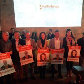 """David Castaño: """"Esta es nuestra campaña, la campaña de Cs, la campaña que traerá el cambio definitivo y real a Castilla y León"""""""