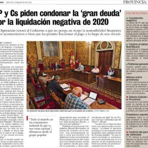 Pleno de julio en la Diputación, sin novedades