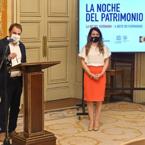 El concejal de Turismo de Salamanca, Fernando Castaño (Cs) presenta la programación de La Noche del Patrimonio 2021