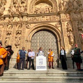 El concejal de Turismo de Salamanca, Fernando Castaño (Cs), presenta las nuevas actividades de la Semana del Siglo de Oro