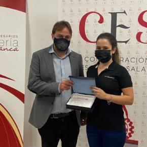 El concejal de Turismo de Salamanca entrega los premios de la XVI FERIA DE DIA 2021