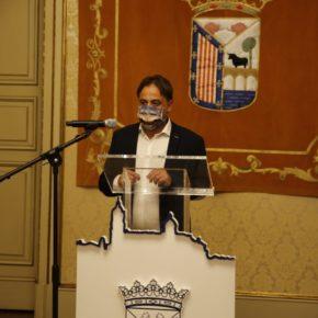 El concejal de Turismo de Salmanca, Fernando Castaño (Cs) presenta los resultados de las actividades 'Salamanca dorada, azul y verde' con más de 10.000 participantes