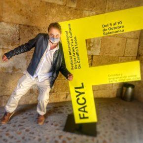 El concejal de Turismo de Salamanca, Fernando Castaño (Cs) asiste a la presentación del FACYL 2021