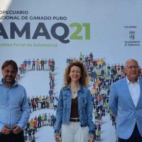 El Grupo Municicipal de Ciudadanos en el Ayuntamiento de Salamanca inaugura la XVI Edición de la Feria de Día y asiste a Salamaq 2021